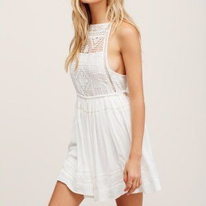 FREE PEOPLE Emily Dress in Ivory - M